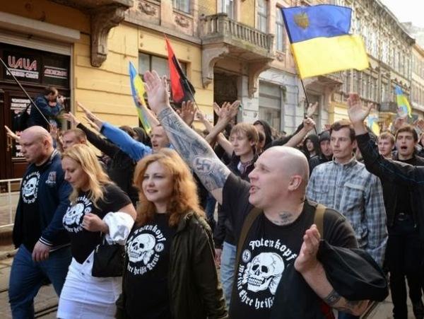 UkraineNaziAufmarsch
